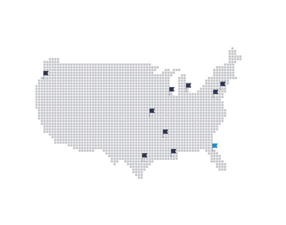 US Locations Map